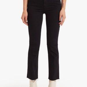 MOTHER Black Jeans